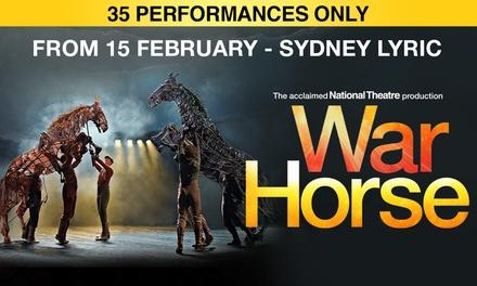 War Horse, Sydney Lyric Theatre: Tickets .90, 15 February 15 March