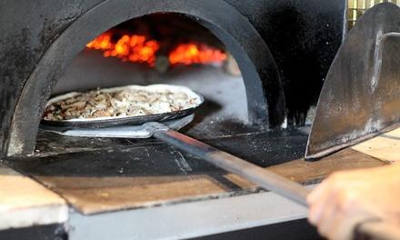 Menú para 2 o 4 con entrante, pizza o baguette, bebida y opción a postre desde 16,95 € en Malapizza