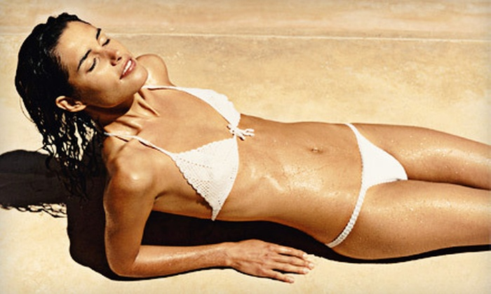 TropiTANa - Mount Juliet: Two, Four, or Six VersaSpa Spray Tans or One Month of Level 1 or 3 UV Tanning at TropiTANa (Up to 69% Off)