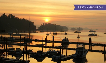Stay at Harbour House Hotel on Salt Spring Island, BC. Dates into April.