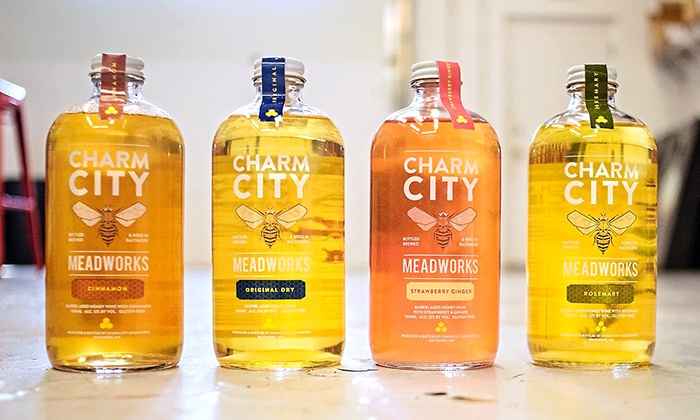 Charm City Meadworks - Charm City Meadworks: Mead Tasting and Take-Home Growlers for Two or Four at Charm City Meadworks (Up to 35% Off)