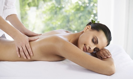 Back, Neck and Shoulder Massage, Full-Body Massage or Back Hot Stone Massage at Deva Hair and Nails (Up to 45% Off*)