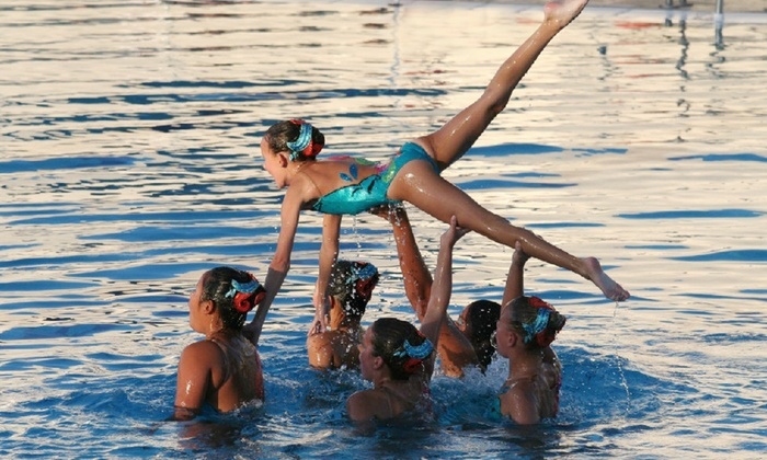 Aqua Stars - Mesa: Four-Hour Synchronized Swimming Clinic for One or Two Children at Aqua Stars (Up to 60% Off)