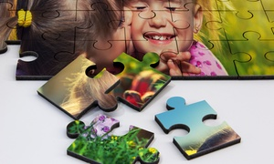 Custom Wood Photo Puzzles For $9-$59 From Printerpix