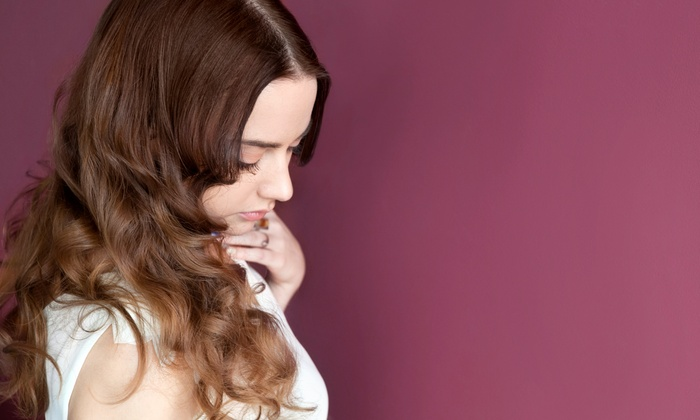Hair by Gunjan - Tempe: Two Moroccan Organics Hair Treatments or Haircut Package with Optional Color at Hair by Gunjan (Up to 50% Off)