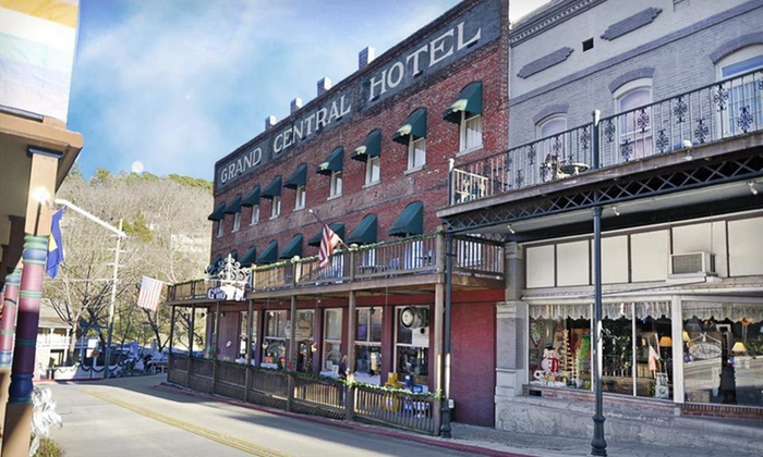 Grand Central Hotel and Spa - Eureka Springs, AR: Grand Central Hotel and Spa