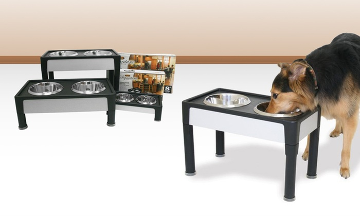 Up to 40% Off a Signature Series Diner Dog Bowl Stand. Multiple Options Available. Free Shipping and Returns