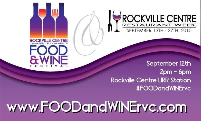RVC Food & Wine Festival - Front Street across from the Rockville Centre LIRR station: Up to 51% Off admission at RVC Wine & Food Festival