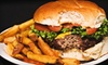 Harry Bear's - Moore: Burger Meal with Fries, Drinks, and Fried Peaches for Two or $7 for $15 Worth of American Fare at Harry Bear's in Moore