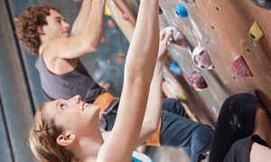The Yeti's Lair Climbing Gym: Climbing Day Pass for Two or Four or Three Day Passes for One at The Yeti's Lair Climbing Gym (Up to 50% Off)