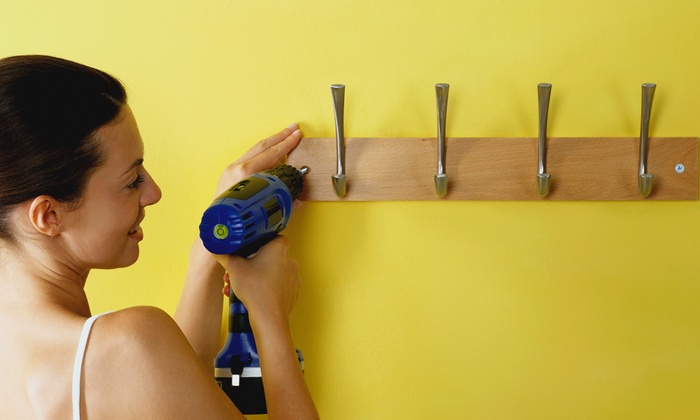 City Girls Handyman Services - Lawrenceville: $75 for Two Hours of Handyman Services from City Girls, LLC ($150 Value)