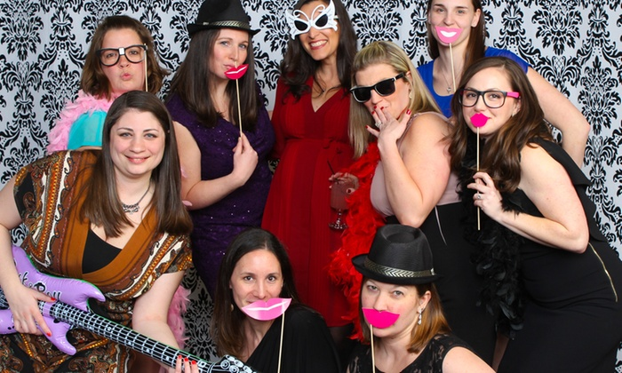 UClick Photo Booths - Philadelphia: $325 for $650 Worth of Selfie Photobooth at UClick Photo Booths
