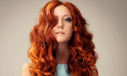 Cut and Condition or Cut and Glaze and Color or Partial or Full Highlights at Paris Salon (Up to 61% Off)