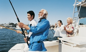 Half-Day or Night Fishing Trip for One, Two, or Four from Northstar Fishing Fleet (Up to 68% Off)