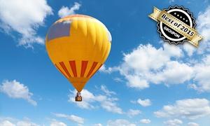 Blue Planet Ballooning: Wertgutschein über 100 € anrechenbar auf eine Voralpenland-Ballonfahrt von Blue Planet Ballooning