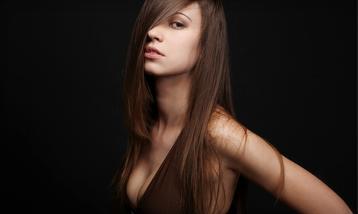 V & H 150 - Lincoln Park: Keratin Treatment with Option of Haircut at V & H 150 (Up to 67% Off)