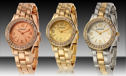 Rousseau Women's Rene Watch. Multiple Styles Available. Free Returns.