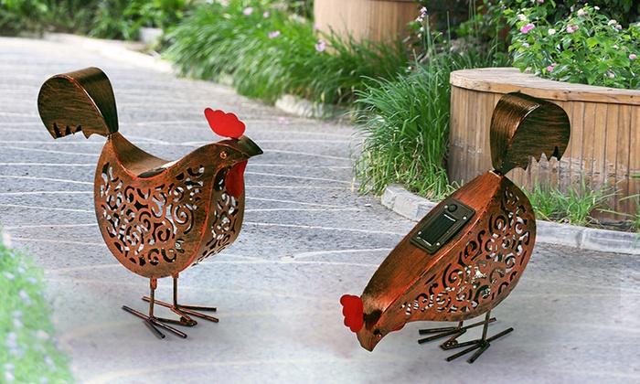 Poules Led Solaires Pour Jardin Groupon