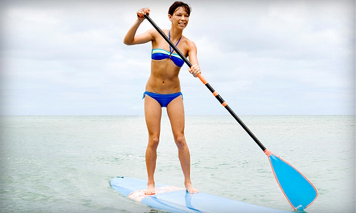 Paddleboard in Utah - Multiple Locations: Two-Hour Standup-Paddleboard Rental for One or Two with Life Jackets from Paddleboard in Utah (Up to 60% Off)