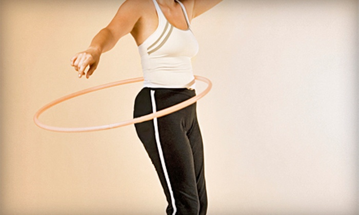 Happy Hoops - Multiple Locations: Four Weeks of Hula-Hoop Fitness Classes for One or Two at Happy Hoops (Up to 58% Off)