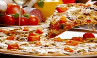 Pizza or Pasta with Glass of Wine or Pint of Lager at Salvatores (Up to 49% Off)