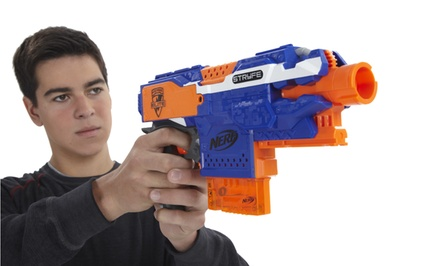 Nerf N-Strike Elite Stryfe Blaster and Refill Pack