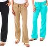 Women's Soft Summer Linen Pants