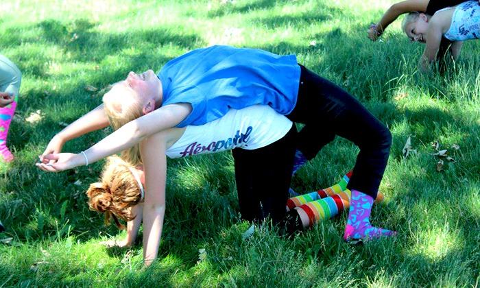 Katerpillar Kids Yoga - Sycamore: 6 or 12 Kids' Yoga Classes at Katerpillar Kids Yoga (Up to 76% Off)