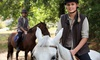 NOURANXO - Nou Ranxo: Paseo a caballo para dos o cuatro personas por los alrededores del parque del Montnegre desde 19,95 €