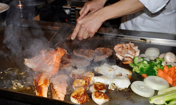 Sakura Sushi and Hibachi Restaurant - Farmingdale: Japanese Food for Dinner at Sakura Sushi and Hibachi Restaurant (Up to 51% Off). Four Options Available.