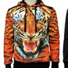 Leonine Sublimated Medusa or Tiger Sweatshirts