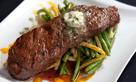 Three-Course American Dinner for Two or Four at Third and Main: Historic Restaurant and Tavern (Up to 43% Off)