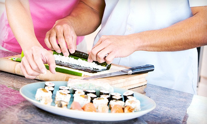 Matsuya Sushi & Grill - Windy Hill: $55 for All-You-Can-Eat Sushi-Making Class for Two at Matsuya Sushi & Grill ($120 Value)