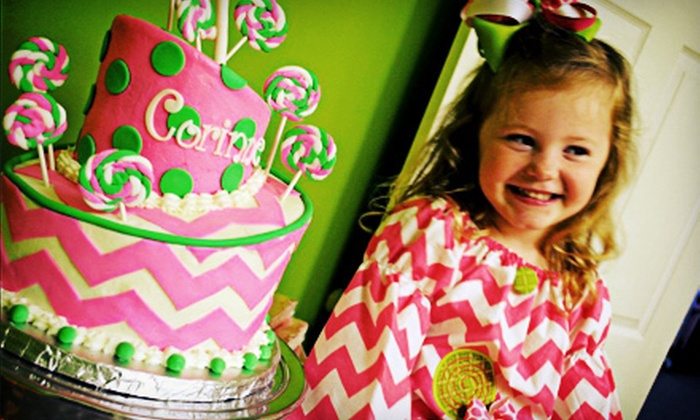 Nola Belles - Metairie: Custom Cakes and Baked Goods at Nola Belles (Up to 56% Off). Two Options Available.