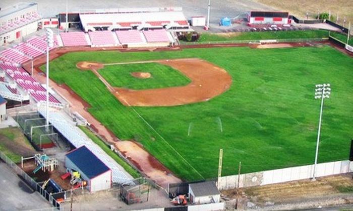 Salem-Keizer Volcanoes - Volcanoes Stadium: Salem-Keizer Volcanoes Baseball Game at Volcanoes Stadium on June 14, 15, or 16 (Up to 56% Off)