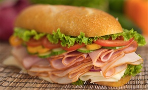 Johnny Prete's Deli A-Go-Go: Gourmet Sandwiches with Drinks for Two or Four at Johnny Prete's Deli A-Go-Go (50% Off)