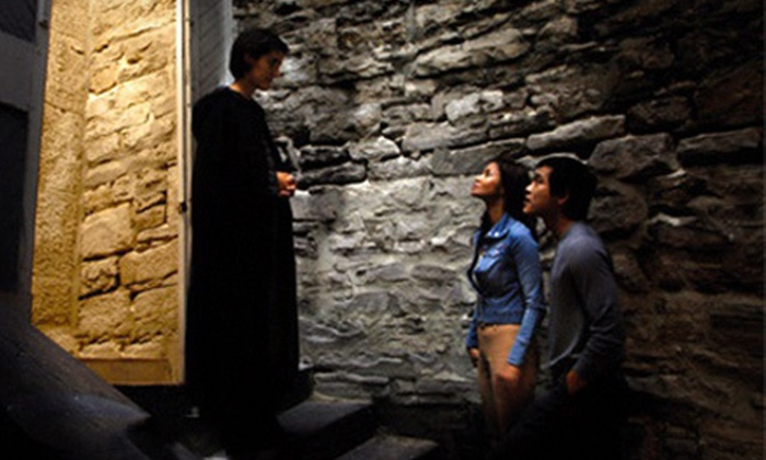 Haunted Walks - Byward Market - Parliament Hill: The Original Haunted Walk of Ottawa or The Naughty Ottawa Pub Walk for Two from Haunted Walks (52% Off)