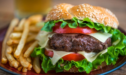 Choice of Gourmet Burgers and Drinks from R169 for Two at The Baron Fredman Drive (Up to 51% Off)