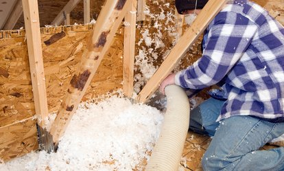 image for $129 for 500 Square Feet of Blown-In Fiberglass Insulation from Chapman Contracting ($750 Value)