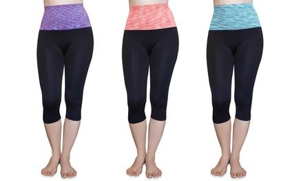 Women's High-Rise Yoga Pants (3-Pack)