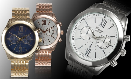 Geneva Platinum Signature Men's Watches