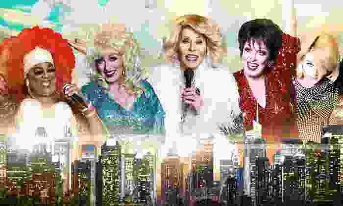 Divine NYC - Clinton: Appetizers and a Cabaret-Style Show for One, Two, or Four at Divine NYC (Up to 52% Off)