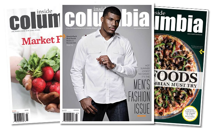 "Inside Columbia Magazine: One- or Two-Year ""Inside Columbia"" Magazine Subscription with ""Columbia's Top Chefs"" Cookbook (Up to 57% Off)"