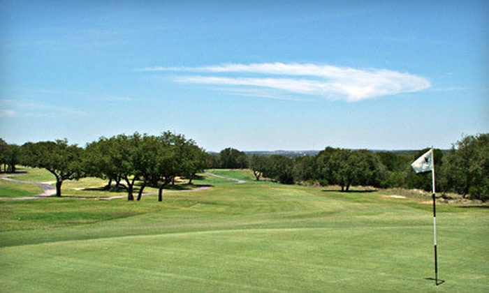 The Hawk at Rebecca Creek Golf Club - Rebecca Creek: Golf Outing for Two or Four with Cart and Range Balls at The Hawk at Rebecca Creek Golf Club (Up to 58% Off)