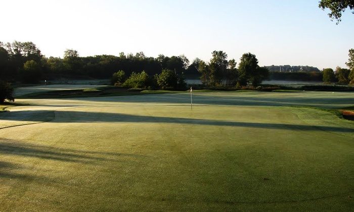 College Fields Golf Club - Okemos: 18-Hole Round of Golf with Cart for Two or Four at College Fields Golf Club (Up to 37% Off)