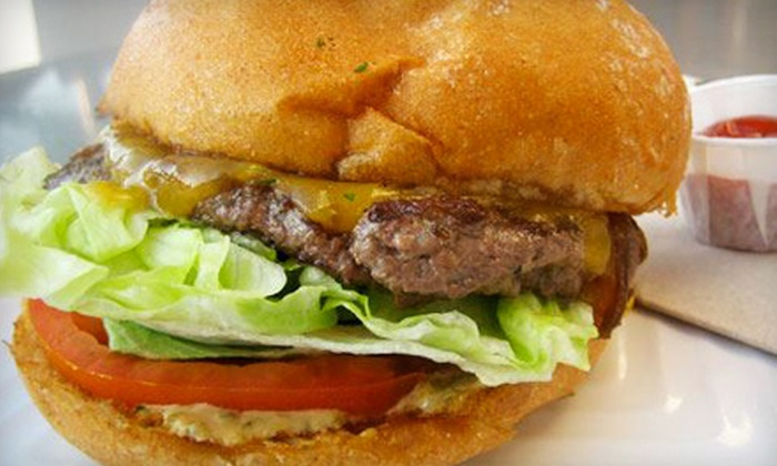 Oddfellow's Burger Kitchen - North Ames: Specialty Burgers at Oddfellow's Burger Kitchen (Half Off). Two Options Available.