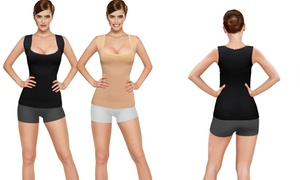 Core Shaper And Tummy Control Tanks (2-pack)
