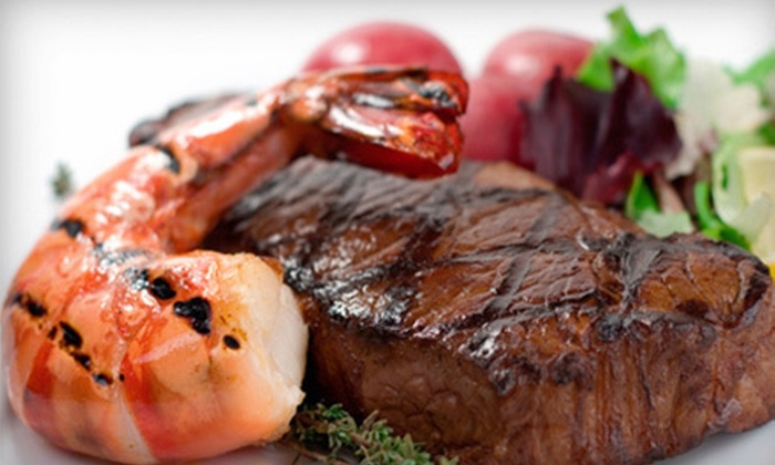 Timbers Steakhouse and Seafood - Angola: Steaks and Seafood for Two or Four at Timbers Steakhouse and Seafood (50% Off)