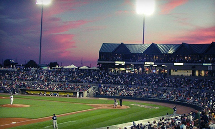 Somerset Patriots - TD Bank Ballpark: $41 for a Somerset Patriots Parent-Child Baseball Package at TD Bank Ballpark ($130 Total Value)