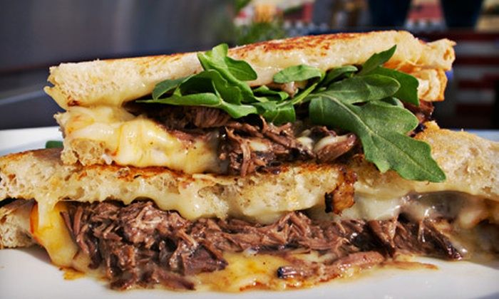 California Crepes - Central San Diego,Marina,Columbia: Crepes or Gourmet Grilled-Cheese Meal for Two at California Crepes (Up to 55% Off)